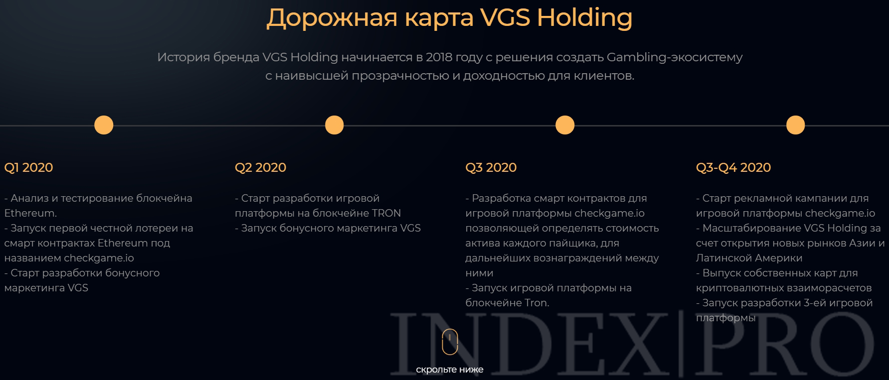 VGS Holding